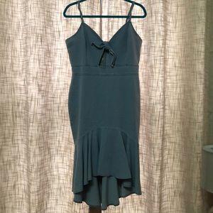 Denim dress!